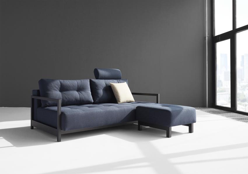 Slaapbank Design Outlet.Bifrost Deluxe Zitbank Slaapbank Met Poef Showmodel
